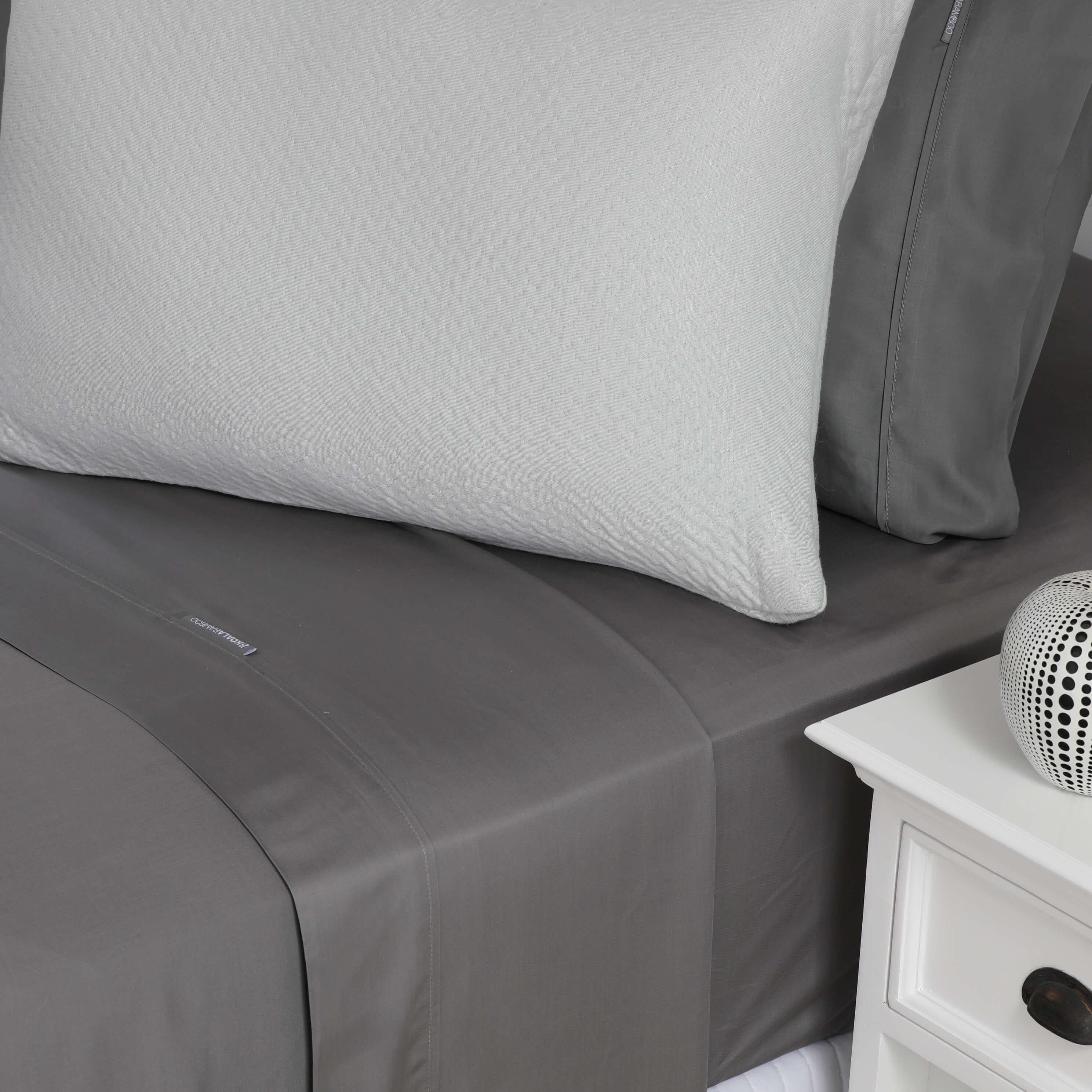 Silver 40% Bamboo PillowCase