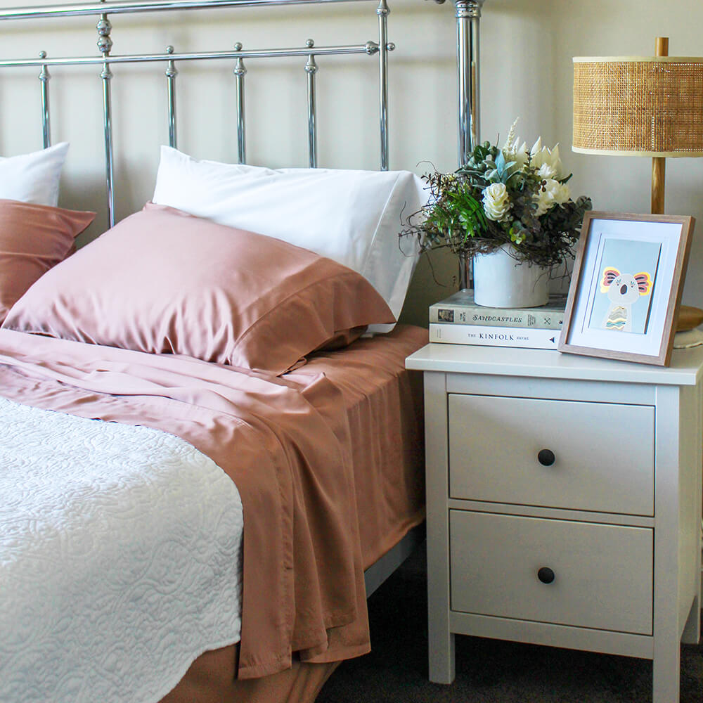 Dusty Rose Sheets